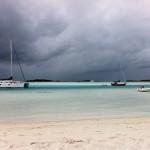 Exumas Thunderstorm from Sea Spirit