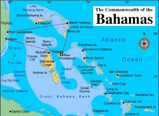 Bahamas Cruise On Mv So Sweet Log Of M V Tortuga